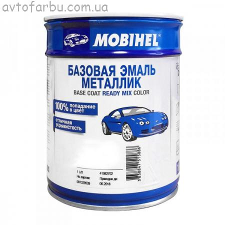 DAEWOO 88K Автоэмаль базовая MOBIHEL 1л GREENISH BLUE